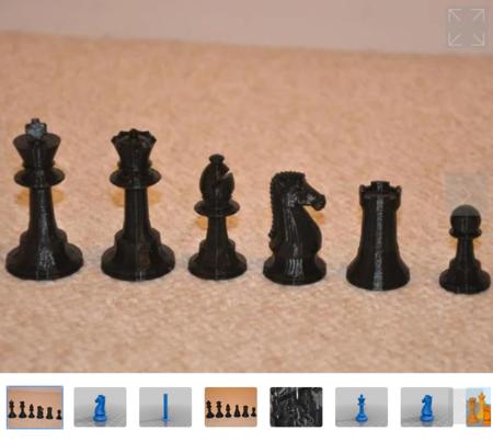Clásico juego de Ajedrez de glChess