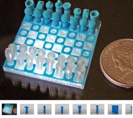 Micro Chess set