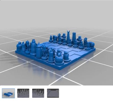 Un juego de ajedrez para gobernarlos a todos