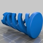 Twisted chess  3d model for 3d printers