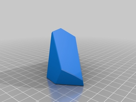Voronoi Fracture Print-in-Place Pyramid Puzzle