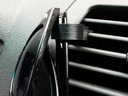 Customizable Car Vent Sunglass Holder v1.0