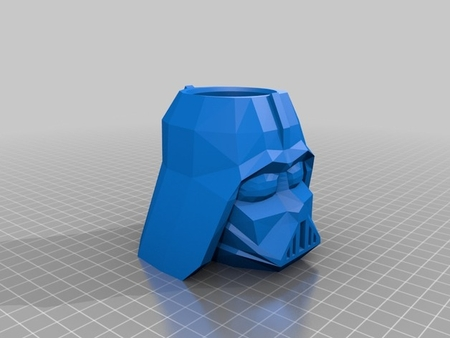 Vader Pencil Cup (Low-Poly)