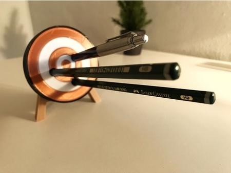 Archery Target Pen Holder