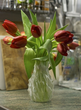 Pineapple Tulip Vase
