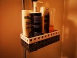 Modelo 3d de Cabello / loción / botella de jabón titular de la ducha ( 2 piezas ) para impresoras 3d