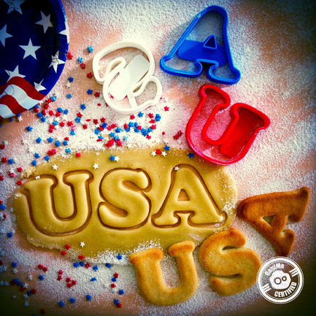USA el Cortador de la Galleta #2 (4 de julio de Edición Especial)