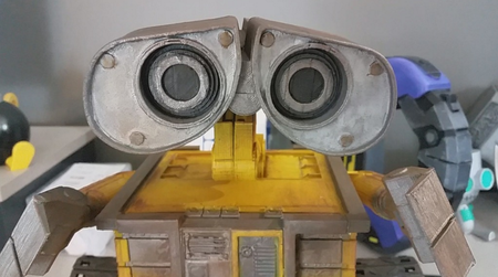 Wall-E, el Robot Totalmente Impreso en 3D