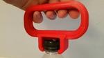 Modelo 3d de Botella de pet de la manija para impresoras 3d