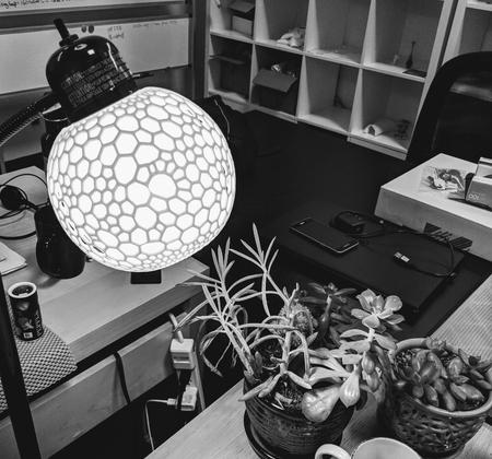 Sphere lattice shade