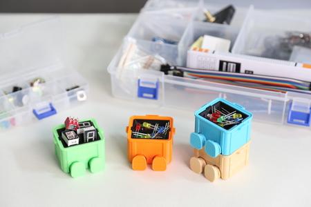 Paso Caja de Paso (mini caja de herramientas)
