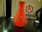 Leahs rose vase  3d model for 3d printers