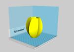 Vase  3d model for 3d printers