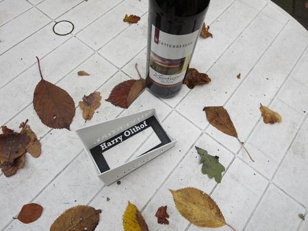 Botella de vino houlder