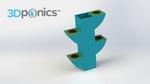 Container - 3dponics herb garden  3d model for 3d printers