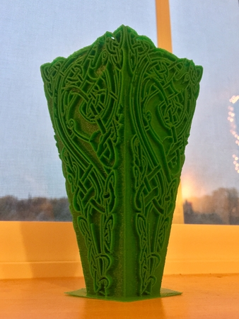 Viking Hound Vase