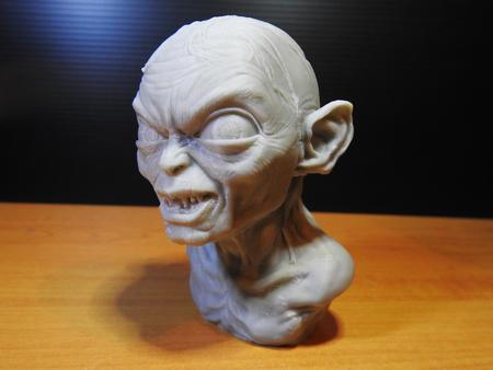 Golum busto, de El Señor De los Anillos