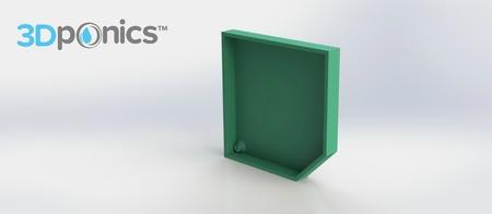 La Cubierta izquierda - 3Dponics Complemento y Crecer Jardín