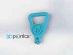 Modelo 3d de Abridor de botellas - 3dprintler para impresoras 3d