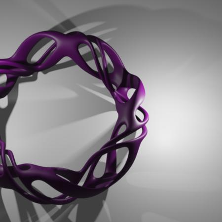 Voronoi style bracelet