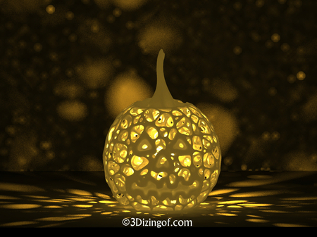 Halloween Pumpkin Lantern - by Dizingof