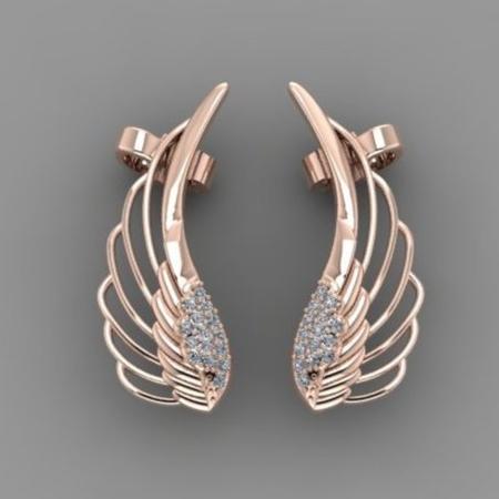 Wing Earrings B13