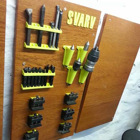 Organizador de herramientas para nuestros torno