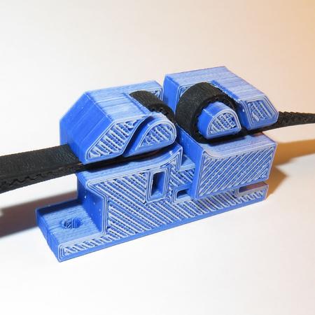 i3 Adjustable Y Belt Holder for GT2 & T2.5