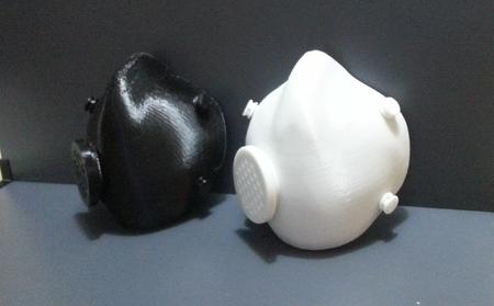 Funcional De La Máscara De Gas V2