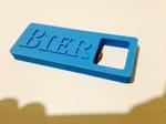 Modelo 3d de La cerveza abridor para impresoras 3d