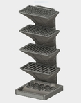 Modelo 3d de Organizador de herramientas personalizable para impresoras 3d