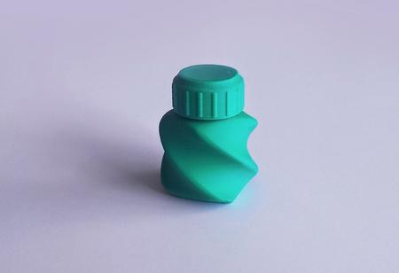 Botella y Tapón de rosca 45 AB