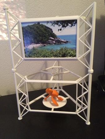 Foto soporte, soporte de impresión 3D