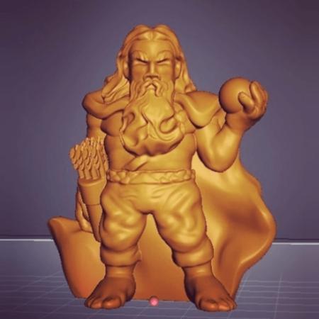 Sculptris Dummies: Enanos
