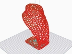 Voronoi jewelry holder  3d model for 3d printers