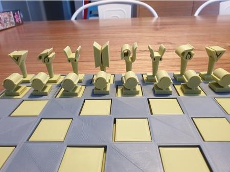K Pop Chess Set and gift box
