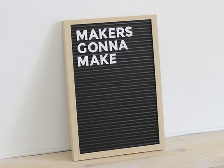 Letter Board - Fully 3D Printed