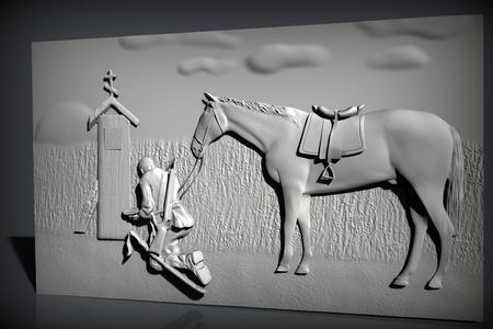kazak router cnc and horse frame