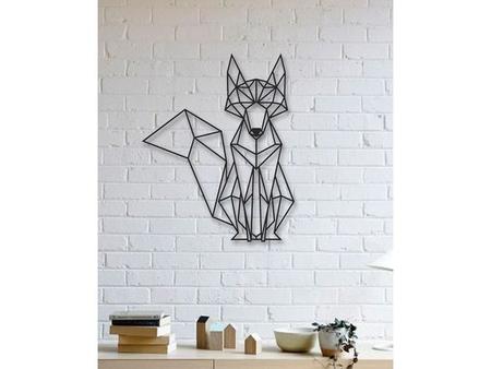 Fox Wall Sculpture 2D