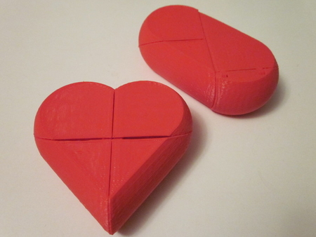 Preassembled Secret Heart Box