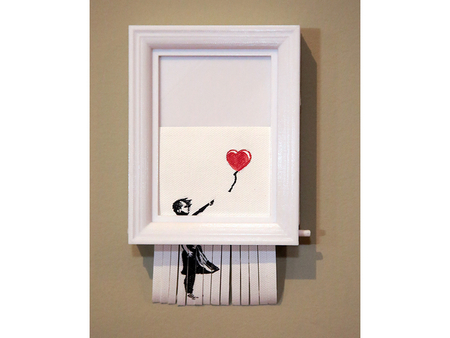 Banksy Frame