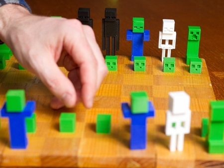 Minecraft Serie De Ajedrez