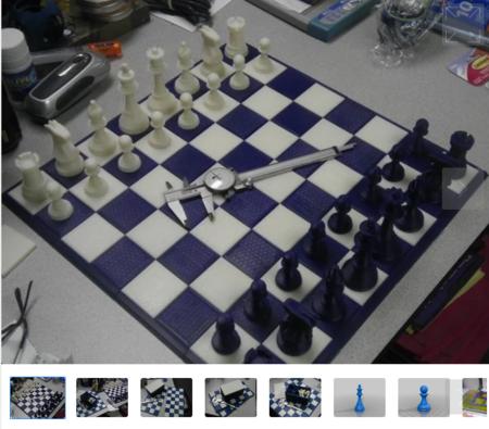 4d-Staunton Tamaño Completo juego de Ajedrez